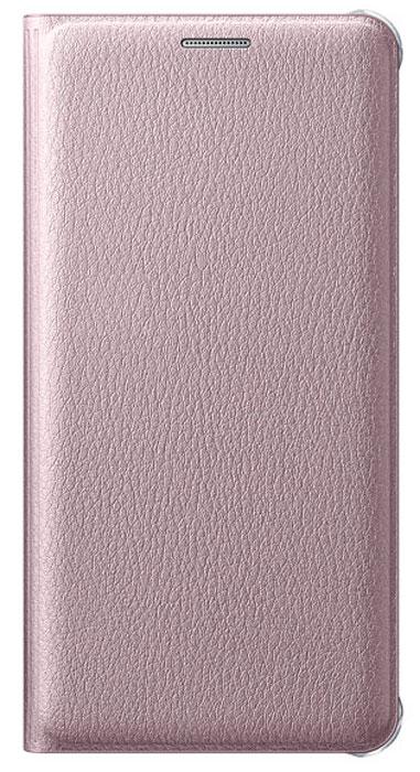 Samsung EF-WA510 Flip Wallet чехол для Galaxy A5 (2016), PinkEF-WA510PZEGRUЧехол-книжка Samsung EF-WA510 FlipWallet подходит для модели смартфона Samsung Galaxy A5. В отличие от простых накладок он защищает не только боковые грани и заднюю стенку смартфона, но и экран от пыли, царапин и потертостей. Он выполнен из полиуретана и плотно прилегает к корпусу девайса. Изящный чехол в минималистичном стиле станет отличным подарком для практичных людей. В специальном кармашке внутри чехла можно хранить визитки, кредитные карты или денежные купюры. Тонкие стенки аксессуара практически не увеличивают габаритов устройства. При использовании смартфона доступы ко всем портам и камере остаются открытыми.