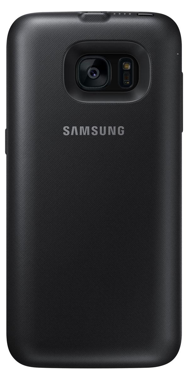 Samsung EP-TG935 Backpack чехол-аккумулятор для Galaxy S7 Edge, BlackEP-TG935BBRGRUЧехол-аккумулятор Samsung EP-TG935 Backpack продлит жизнь вашему смартфону. В дороге или путешествии – ваш девайс всегда работоспособен. Для начала зарядки не нужно подключать провода – просто наденьте чехол на ваш смартфон Samsung Galaxy S7 Edge. Делайте фото, слушайте музыку и оставайтесь на связи с близкими людьми!
