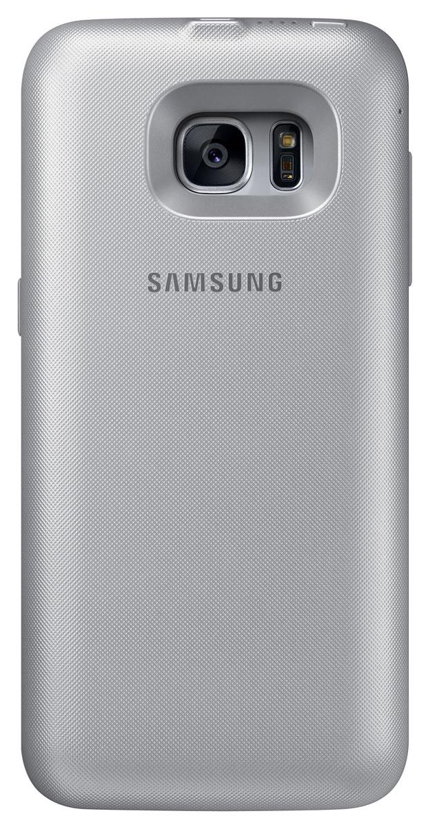 Samsung EP-TG935 Backpack чехол-аккумулятор для Galaxy S7 Edge, SilverEP-TG935BSRGRUЧехол-аккумулятор Samsung EP-TG935 Backpack продлит жизнь вашему смартфону. В дороге или путешествии - ваш девайс всегда работоспособен. Для начала зарядки не нужно подключать провода - просто наденьте чехол на ваш смартфон Samsung Galaxy S7 Edge. Делайте фото, слушайте музыку и оставайтесь на связи с близкими людьми!