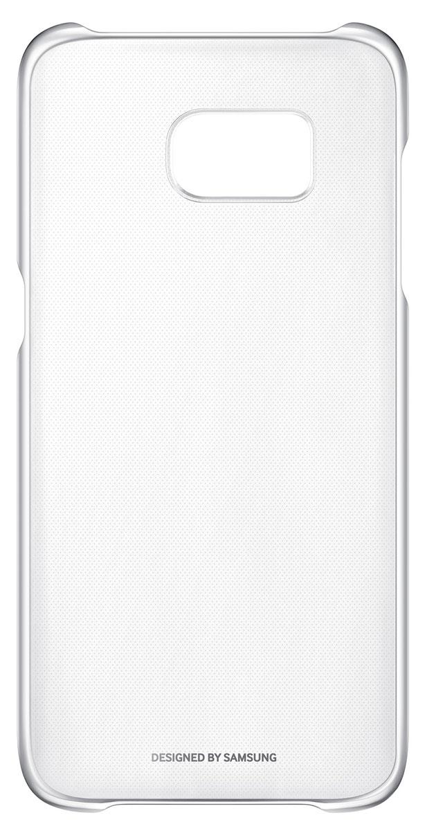Samsung EF-QG935 Clear Cover чехол для Galaxy S7 Edge, SilverEF-QG935CSEGRUSamsung EF-QG935 Clear Cover - прозрачная накладка на заднюю крышку смартфона Samsung Galaxy S7 Edge. Тонкий чехол практически не увеличивает размеров смартфона, сохраняя его оригинальный внешний вид и защищая от пыли, грязи и повреждений. Уважаемые клиенты! Обращаем ваше внимание, что данный чехол имеет специальное защитное покрытие под транспортировочной плёнкой в виде тонкой дополнительной плёнки, являющееся неотъемлемой частью крышки и которое нанесено с помощью специального клея. Отделение данного слоя не предусмотрено производителем, и может привести к повреждению аксессуара.