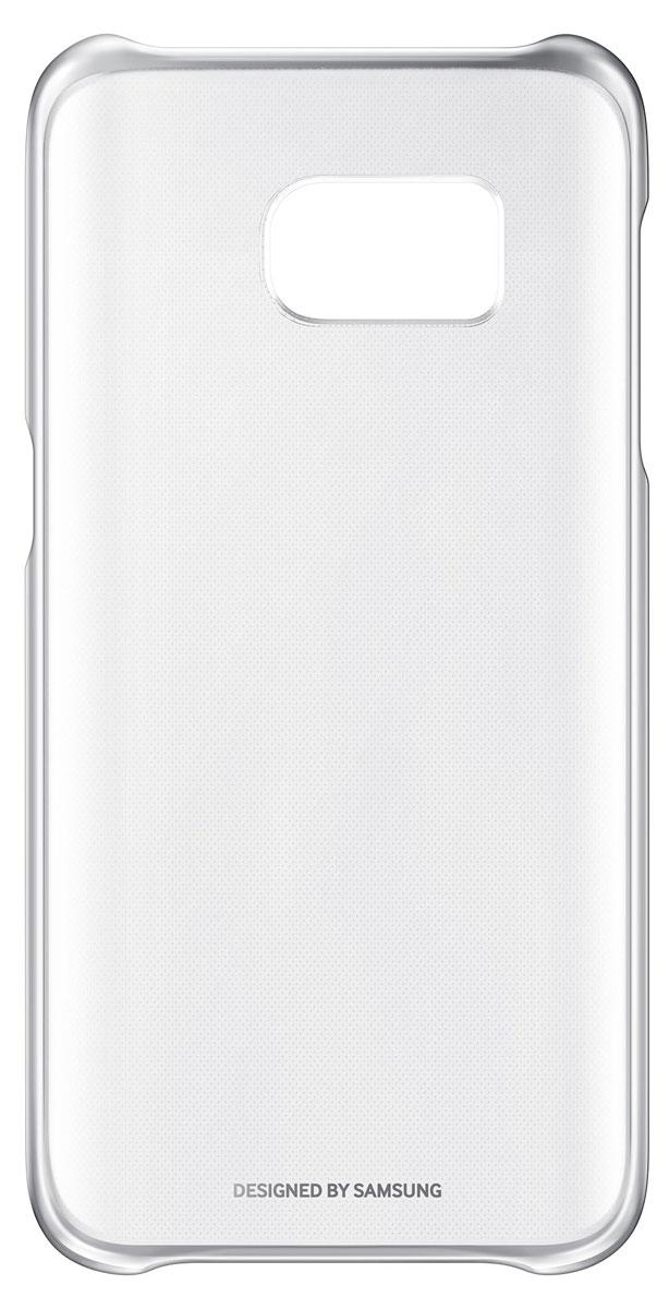Samsung EF-QG930 Clear Cover чехол для Galaxy S7, SilverEF-QG930CSEGRUSamsung EF-QG930 Clear Cover - прозрачная накладка на заднюю крышку смартфона Samsung Galaxy S7. Тонкий чехол практически не увеличивает размеров смартфона, сохраняя его оригинальный внешний вид и защищая от пыли, грязи и повреждений. Уважаемые клиенты! Обращаем ваше внимание, что данный чехол имеет специальное защитное покрытие под транспортировочной плёнкой в виде тонкой дополнительной плёнки, являющееся неотъемлемой частью крышки и которое нанесено с помощью специального клея. Отделение данного слоя не предусмотрено производителем, и может привести к повреждению аксессуара.