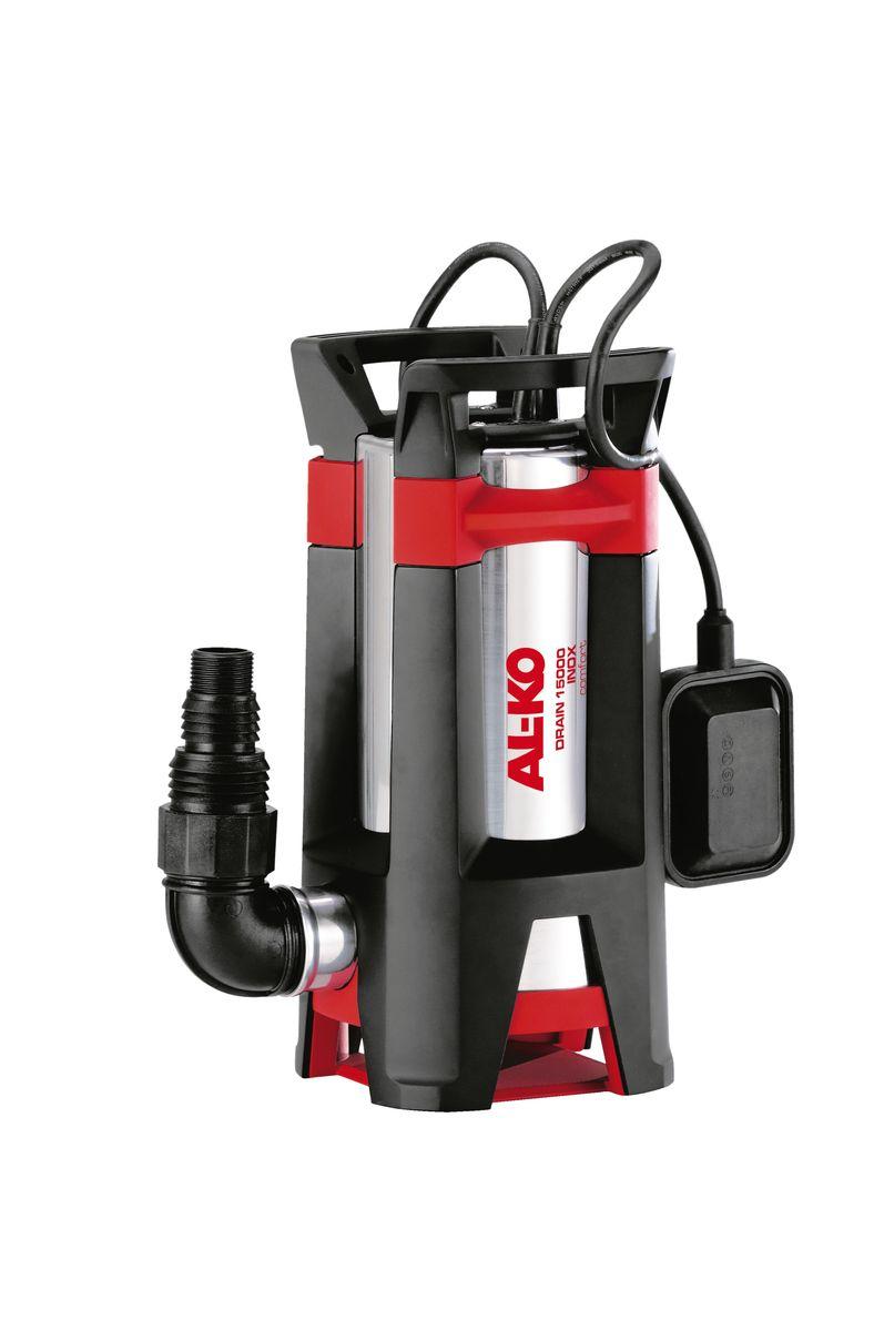 Насос погружной AL-KO Drain 15000 Inox Premium112828Мощный погружной насос AL-KO Drain 15000 Inox Premium предназначен для грязной воды. Прочная конструкция, многорядное уплотнение, корозионно-стойкие материалы позволяют использовать насос AL-KO для грязной воды в самых экстремальных условиях и гарантируют долгий срок службы. Насос оснащены всем, что необходимо для безупречной работы: встроенный поплавковый выключатель для автоматического включения-выключения, уголковый переходник (90°) и комбинированный ниппель, подходящий для всех стандартных шлангов. Длина кабеля: 10 м. Мощность: 1100 Вт. Максимальная глубина погружения: 7 м. Максимальная высота всасывания: 11 м. Максимальный объем подачи: 15000 л/час. Максимальный размер взвешенных частиц: 3,5 см. Диаметр выходного отверстия: 1,5.