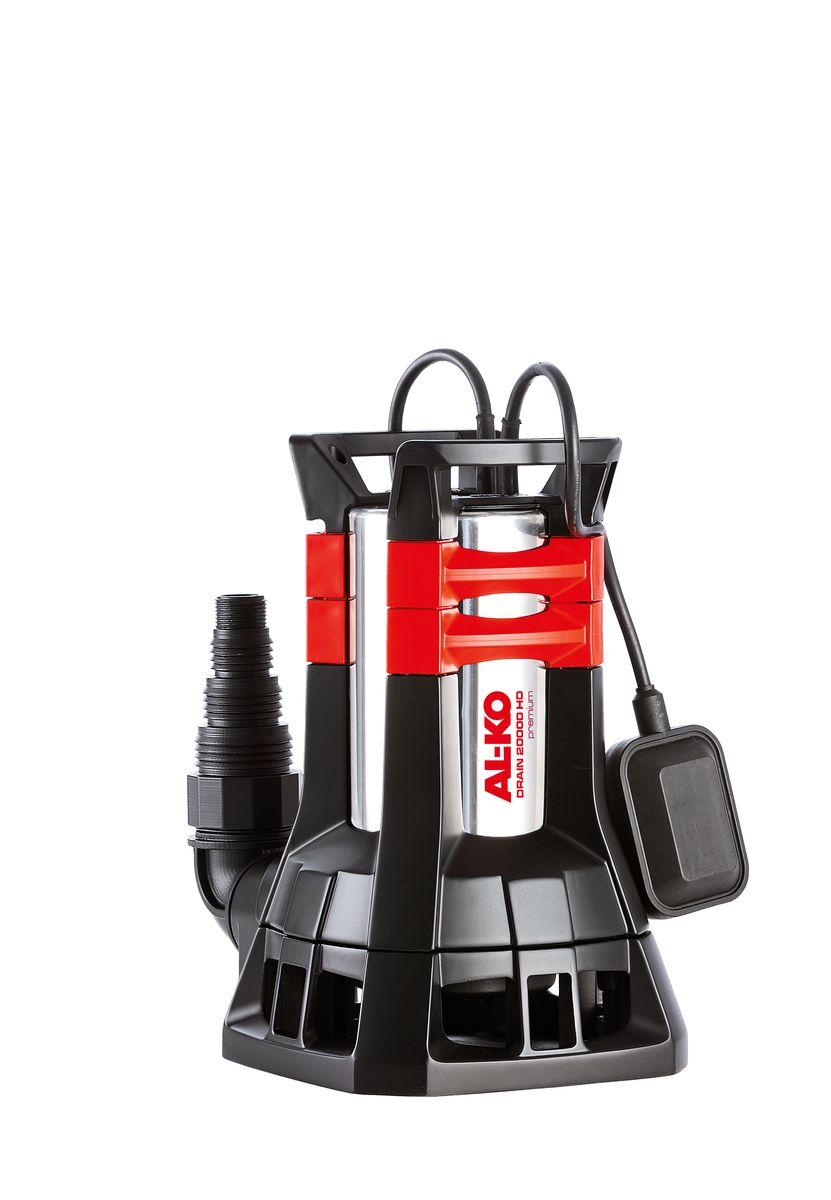 Насос погружной AL-KO Drain 20000 HD PREMIUM112836для грязной воды Прокачивает частицы диаметром до 38 мм.