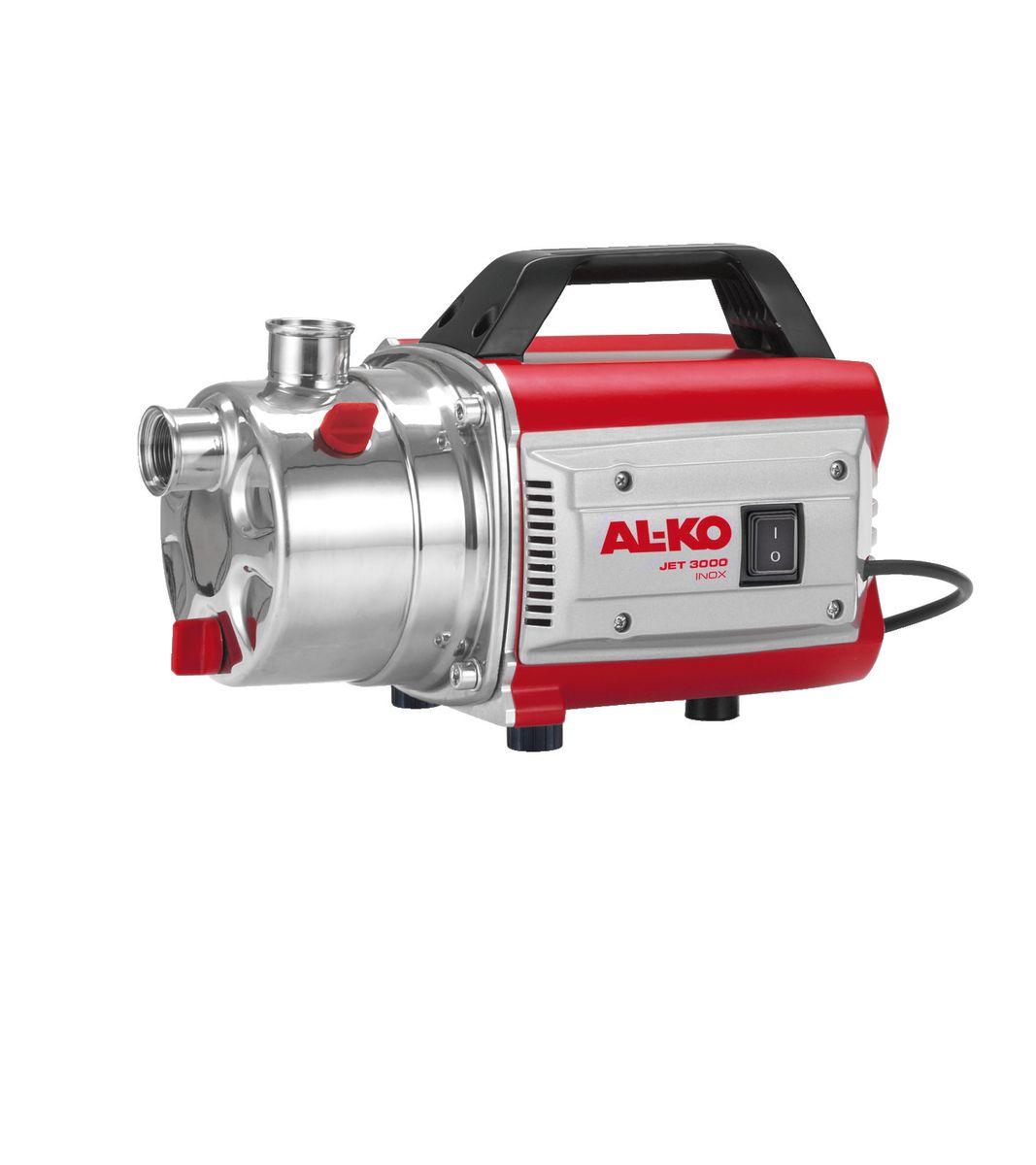 Насос садовый AL-KO JET 3000 Inox Classic112838Садовый насос AL-KO JET 3000 Inox Classic всасывает воду через всасывающий трубопровод и передает ее к выходному отверстию насоса. Он включается и выключается с помощью выключателя. Садовый насос предназначен исключительно для перекачивания следующих жидкостей: осветленная вода, дождевая вода содержащая хлор вода (например, из бассейнов). Устройство оснащено защитным термореле, отключающим насос при перегреве. После периода охлаждения продолжительностью 15-20 минут насос автоматически включается. Садовый насос применяется для: Перекачивания и выкачивания жидкости из резервуаров (например, из плавательных бассейнов). Забора воды из колодцев, бочек с дождевой водой и цистерн. Орошения и полива. Мощность: 650 Вт. Производительность: 3100 л/час. Высота напора: 35 м. Глубина забора воды: 8 м. Максимальное давление: 3,5 бар. Максимальная температура воды: 35°С. Класс защиты: IPX4. Уровень шума: 76 дБ. Диаметр...