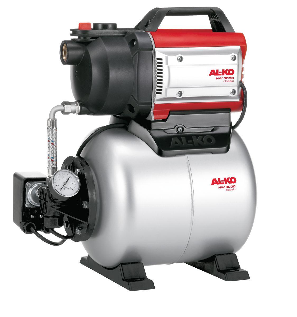 Насосная станция AL-KO HW 3000 Classic112845Очень легкий ввод в эксплуатацию.