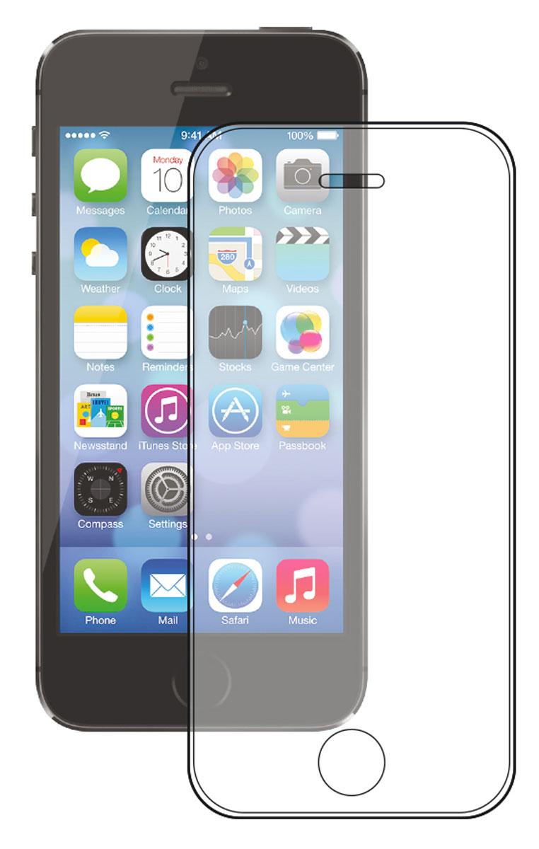 Deppa Gorilla защитное стекло для Apple iPhone 5/5s/5c, Clear61983Прочное защитное стекло Deppa Gorilla Glass 2 защитит экран вашего устройства от царапин. Обеспечивает более высокий уровень защиты по сравнению с обычной пленкой. При этом яркость и чувствительность дисплея не будут ограничены. Препятствует появлению воздушных пузырей и надежно крепится на экране устройства. Имеет олеофобное покрытие и закругленные края 2.5D. Материал: закаленное стекло Corning Gorilla Glass 2 (США)