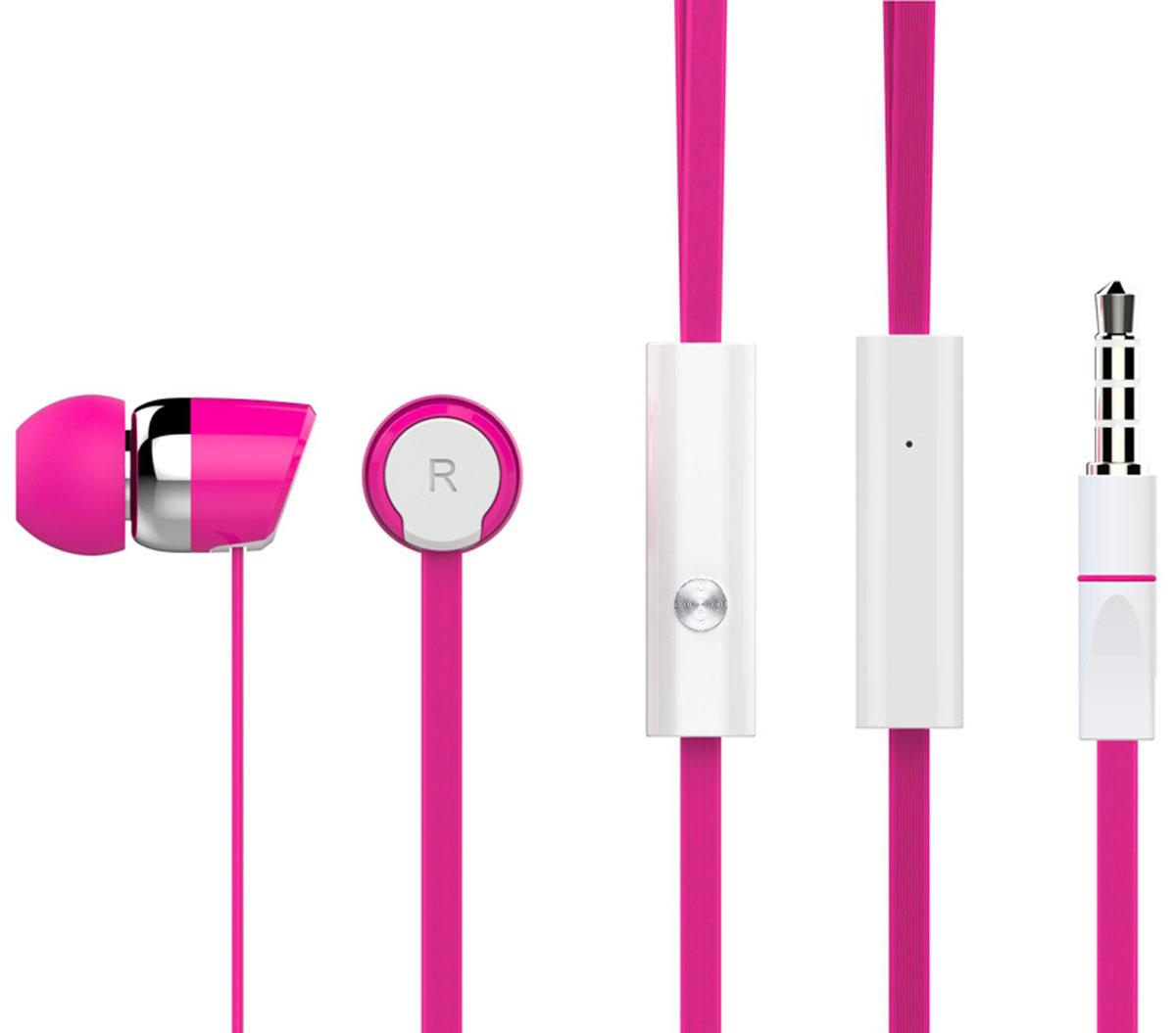 Harper Kids HV-104, Pink наушникиH00000769Яркие и стильные наушники Harper Kids HV-104 с люминесцентным покрытием (светятся в темноте). Гарнитура имеет встроенный пульт и микрофон для быстрого переключения между музыкой и вызовами. Подключив её к своему смартфону или планшету вы сможете не только наслаждаться любимой музыкой, но и с легкостью ответить на звонок, не доставая гаджет. Гарнитура имеет плоский, эластичный и устойчивый к запутыванию кабель длиной 1,2 метра. В комплекте с наушниками идут мягкие силиконовые накладки 3-х размеров для максимального комфорта.
