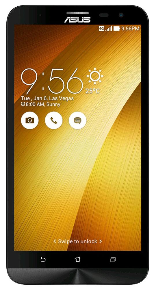 ASUS ZenFone 2 Laser ZE601KL, Gold (90AZ0113-M00380)90AZ0113-M00380Беспрецедентная производительность, четкое изображение, интуитивно понятный пользовательский интерфейс – все это вы найдете в новом смартфоне Asus ZenFone 2 Laser ZE601KL. Смартфон выполнен в изящном корпусе, толщина боковых граней которого составляет всего 3,9 мм. Обладая эргономичной формой, он украшен традиционным для мобильных устройств ASUS узором из концентрических окружностей с углублениями размером лишь 0,13 мм. Оригинальным и весьма удобным решением в его дизайне является расположенная на задней панели корпуса кнопка, с помощью которой можно делать фотоснимки, изменять громкость звука и т.д. В ZenFone Laser (ZE601KL) используется восьмиядерный 64-битный процессор Qualcomm Snapdragon 616, который сочетает высокую производительность с низким энергопотреблением. Его мощности хватит для любых мобильных приложений, а для быстрой передачи данных (на скорости до 150 Мбит/с) в данном смартфоне имеется встроенный модуль 4G/LTE. ...