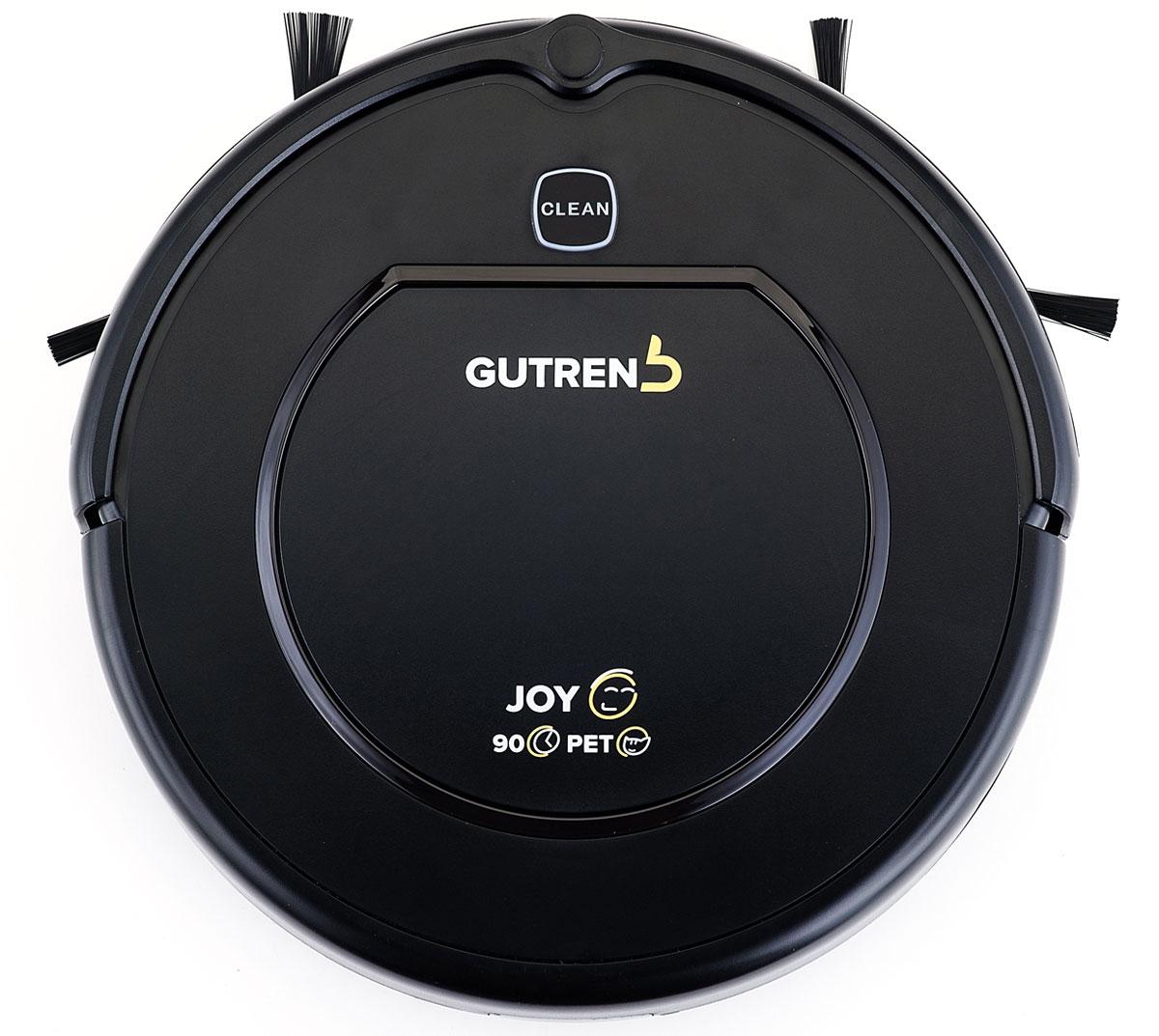 Gutrend Joy 90 робот-пылесосG90BРобот-пылесос Gutrend Joy 90 помогает устранять мусор, пыль, шерсть домашних животных и отлично убирает любые типы поверхностей: линолеум, паркет, ламинат, кафельную плитку и ковролин. Одна из ключевых особенностей данной модели – это максимальная простота в использовании. Вам не придется подолгу разбираться в настройках и принципах работы – все управление сводится к нажатию одной кнопки. Остальное робот сделает сам. Пылесос оснащен целым комплексом полезных функций: Обнаружение препятствий – 10 пар датчиков, расположенные на переднем бампере устройства, позволят обнаружить преграды на пути робота-пылесоса и избежать столкновения за несколько миллиметров до препятствия. Предотвращение падения с высоты – 3 пары датчиков, расположенные на передней и боковых плоскостях дна робота-пылесоса, позволят обнаружить перепад высоты и предотвратить падение устройства. Уборка по расписанию – вы можете запланировать уборку робота-пылесоса на...