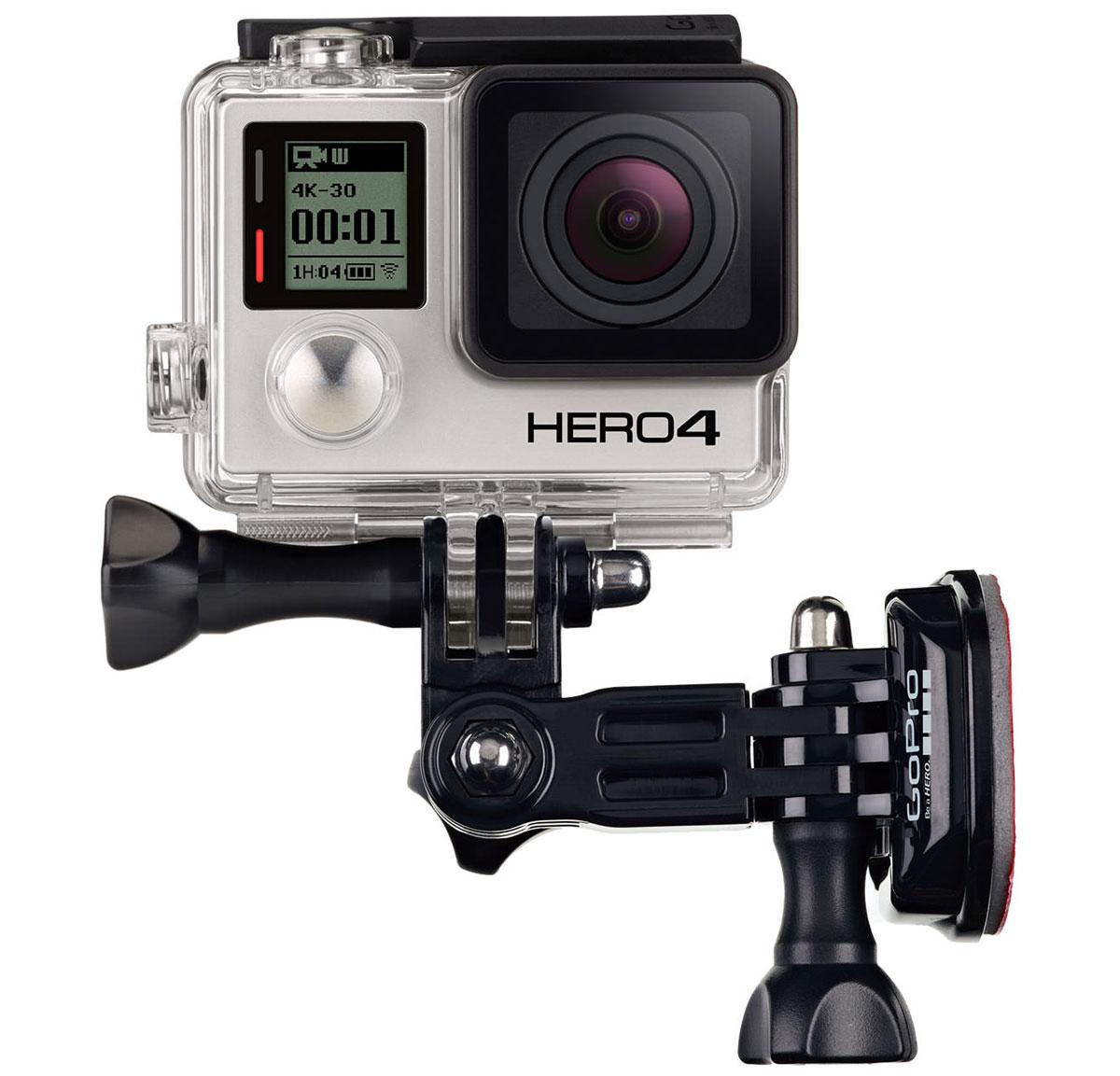 GoPro Side Mount боковое креплениеAHEDM-001Side Mount - крепление для надежной фиксации вашей камеры GoPro с боковой стороны шлема, транспортного средства, снаряжения и другого. Позволяет снимать фото и видео, захватывая часть шлема и спортивного инвентаря. 3 степени поворота дадут вам возможность легко управлять съемкой, направлять видеокамеру в любую сторону.