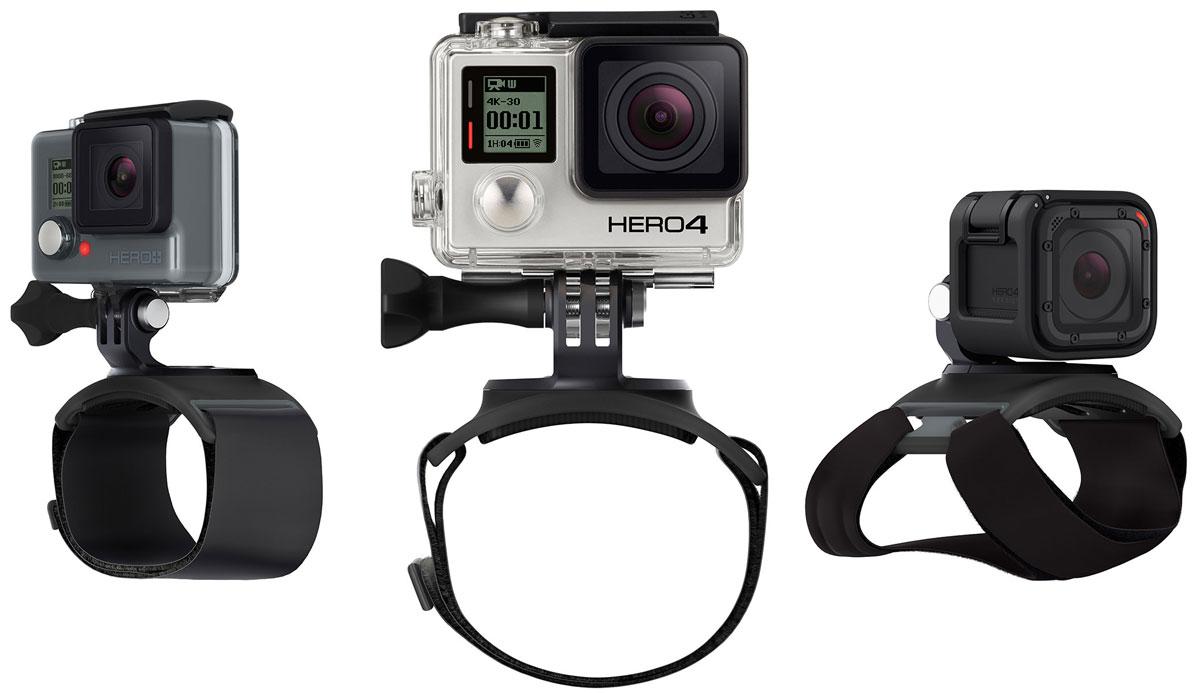GoPro The Strap крепление-ремешокAHWBM-001GoPro The Strap подходит, как для крепежа на руку, так и на плечо и ногу, чтобы освободить руки для невероятных кадров в движении и неповторимых селфи-кадров. С помощью крепления The Strap, камера способна вращаться вокруг себя на все 360°, а также наклонятся вперед и назад, что позволит вам настроить угол съемки в любом движении и на любой скорости. Крепление на руку идеально подходит для различного рода занятий и полностью регулируется, чтобы соответствовать широкому спектру размеров.