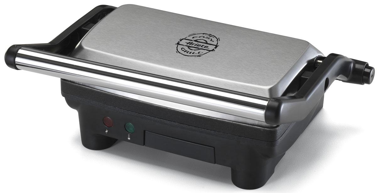 Ariete 1913 Toast & Grill Slim электрогриль1913Ariete 1913 Toast & Grill Slim станет отличным помощником на вашей кухне. При помощи этой модели вы сможете приготовить мясные и рыбные стейки, овощи-гриль, сосиски, мясо птицы, сэндвичи, тосты и многое другое. Устройство компактно и не займет много места. Гриль оснащен регулятором температуры и лотком для сбора жира. Пластины с антипригарным покрытием очень легко чистить, а также они предотвращают подгорание продуктов и дают возможность готовить с минимальным использованием масла. Этот симпатичный гриль безусловно достоин того, чтобы стать украшением вашей кухни!