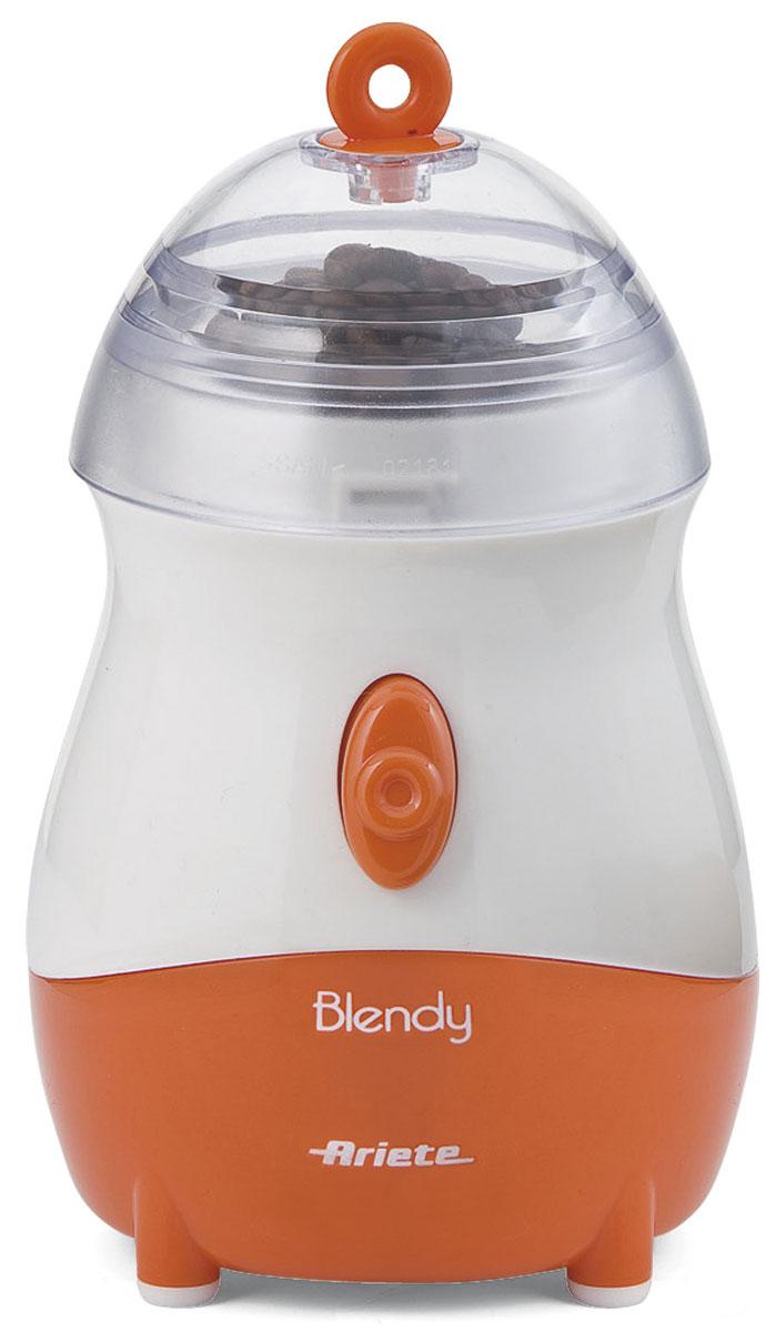 Ariete 570 Blendy стационарный блендер570Блендер Ariete 570 Blendy имеет стильный дизайн, он выглядит оригинально и сразу же привлекает внимание. Корпус выполнен в ярко оранжевом и белом цвете. Прибор имеет компактные размеры, поэтому вы можете установить его даже на кухне, заставленной электроприборами. Покрытие Soft-Touch обеспечивает комфортное и удобное использование, мягкое покрытие приятно на ощупь. Вы сможете готовить не только различные коктейли либо фруктовое пюре, ценой данного блендера можно измельчить специи, сахар или кофе. Основную часть блендера Ariete 570 Blendy можно легко превратить в кофемолку. Блендер имеет механическое управление. Индикатор включения и выключения подскажет о готовности устройства к работе. Чтобы прибор начал измельчать, достаточно нажать всего одну кнопку. Данный блендер оснащен одной скоростью, что очень удобно, поскольку вам не нужно тратить время на подбор необходимого скоростного режима. Чаша блендера изготовлена из пластика, ее объем составляет...