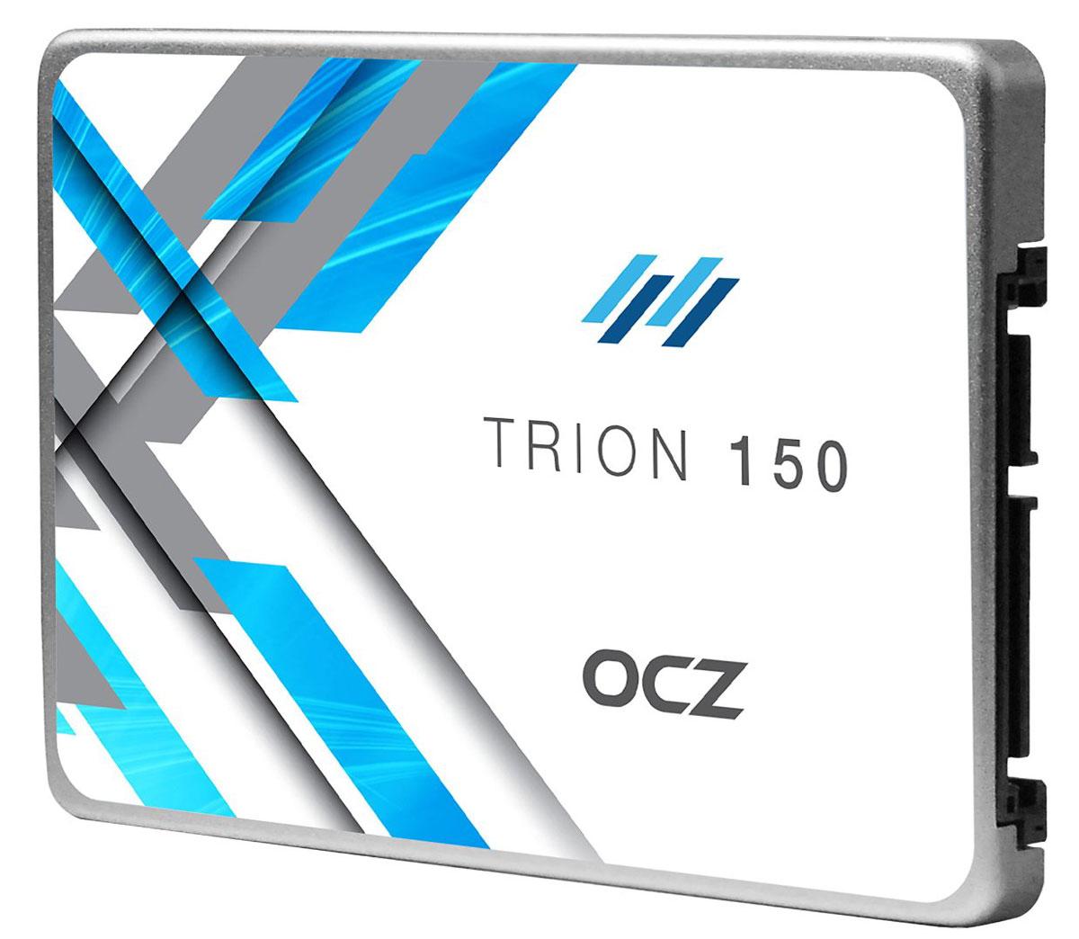 OCZ Trion 150 240GB (TRN150-25SAT3-240G) SSD накопитель352250Переход с жесткого диска на твердотельный накопитель должен быть простым и доступным, и именно в этом помогут SSD-накопители OCZ Trion 150. Для оптимизации и немедленного повышения скорости работы ноутбука или ПК в SSD-накопителе серии Trion 150 используется флеш-память TLC NAND от Toshiba. Это гарантирует долговечность, а также обеспечивает превосходный баланс производительности, надежности и качества, способного преобразить любую мобильную или стационарную систему. Быстрый и эффективный: Повысьте свою производительность при помощи накопителей Trion 150, и вы увидите, что ПК станет быстрее загружаться, время передачи файлов сократится, а общая отзывчивость системы улучшится. Попрощайтесь с задержками, присущими обычным жестким дискам, и начните новую эру вычислений, стоящую затрат вашего времени. Производительность по доступной цене: Переход на SSD может ощущаться, как если бы вы приобрели полностью новую систему - производительность ...