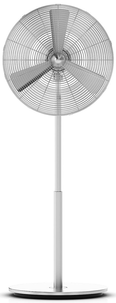Stadler Form Charly Fan Stand New, Silver вентилятор напольный0802322002881Усовершенствованная версия культового вентилятора Charly - Charly New. Теперь у этой ветряной машины есть поворотный режим, благодаря которому охлажденный воздух равномерно распределяется по комнате. В сочетании с регулировкой наклона и высоты позволяет точно настроить направление освежающего бриза. Дизайн Charly навевает образы самолетов XX века, запечатленных в творчестве Ричарда Баха. При этом вентилятор не выглядит старомодно, а ретро выражается исключительно тонкими намеками, без нарочитой стилизации. Все это результат совместной работы команды Stadler Form и швейцарского дизайнера Матти Уолкера. Сходство с турбиной самолета создается не только авторским дизайном, но и производительностью под стать воздушному судну. Три алюминиевые лопасти Charly перегоняют до 6 000 м3 в час. Это обеспечивает активную циркуляцию воздуха, чувство свежести и комфорта в помещении. Крепкий парень Charly сделан полностью из металла: цинк, алюминий и матовое...
