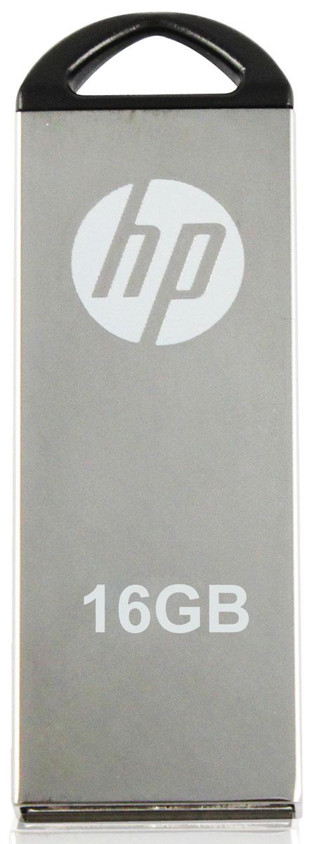 HP v220W 16Gb, Silver флеш-накопитель3536401512325HP v220W имеет прочный металлический корпус, что помогает сохранить данные от повреждения во время транспортировки. Строгий дизайн данной модели подчеркнет ваш стиль. А благодаря компактным размерам она будет с вами везде, куда бы вы не отправились. Храните и перемещайте ваши данные с надежными и стильными флеш-накопителями от HP.
