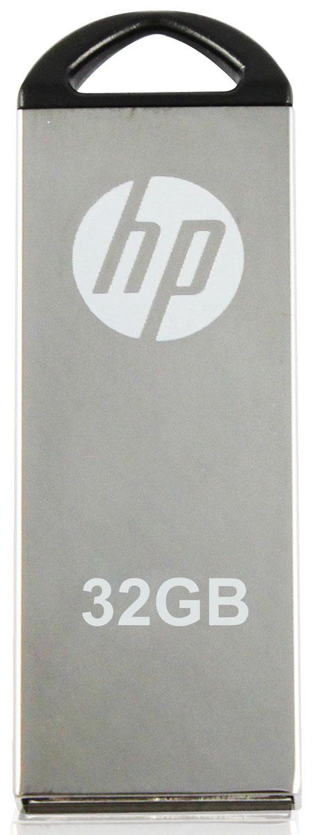 HP v220W 32Gb, Silver флеш-накопитель3536401514282HP v220W имеет прочный металлический корпус, что помогает сохранить данные от повреждения во время транспортировки. Строгий дизайн данной модели подчеркнет ваш стиль. А благодаря компактным размерам она будет с вами везде, куда бы вы не отправились. Храните и перемещайте ваши данные с надежными и стильными флеш-накопителями от HP.