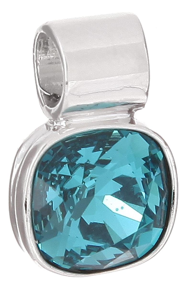 Подвеска Jenavi Дарила, цвет: серебряный, голубой. k271f334k271f334Подвеска Jenavi Дарила выполнена из гипоаллергенного ювелирного сплава, оформлена покрытием из серебра и родия. Подвеска дополнена граненым кристаллом Swarovski. Изделие имеет отверстие, которое позволит использовать шнур или цепочку любого диаметра. Подвеска Jenavi Дарила поможет дополнить любой образ и привнести в него завершающий яркий штрих.