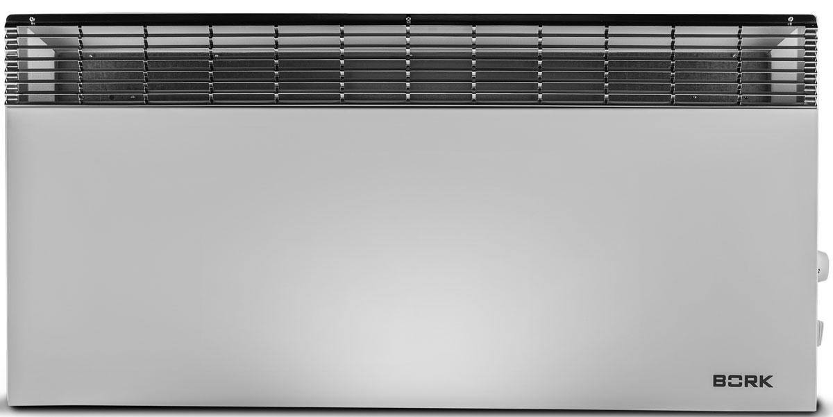 Bork R702 конвекторный обогревательR702Конвектор Bork R702 оснащен нагревательным элементом Multimica, значительно увеличивающим теплопроводность обогревателя. Высокоточный термостат прибора позволяет настроить и поддерживает температуру от +4 до +40 С°. При достижении заданных параметров происходит автоматическое отключение конвектора. Высокий класс защиты IP24 делает возможным использование прибора в ванных комнатах. Обогреватель произведен в Германии. Корпус из высококачественного металла обеспечивает ему длительный срок службы и высокую безопасность использования. Решетка радиатора из нержавеющей стали является отличительным элементом современного дизайна. Количество режимов работы: 10