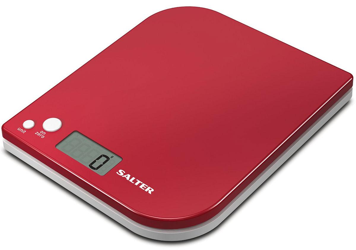 Salter 1177 RDWHDR, Red электронные кухонные весы1177 RDWHDRSalter 1177 - электронные кухонные весы с современным дизайном. Данная модель имеет функцию добавь и взвешивай для взвешивания нескольких ингредиентов в одной чаше. Вы можете легко осуществлять переключение между метрической и имперской системой измерения. Прибор оснащен легко читаемым дисплеем. Ингредиенты можно взвешивать прямо на весах или в отдельной емкости. Размер дисплея 4,5 х 2 см