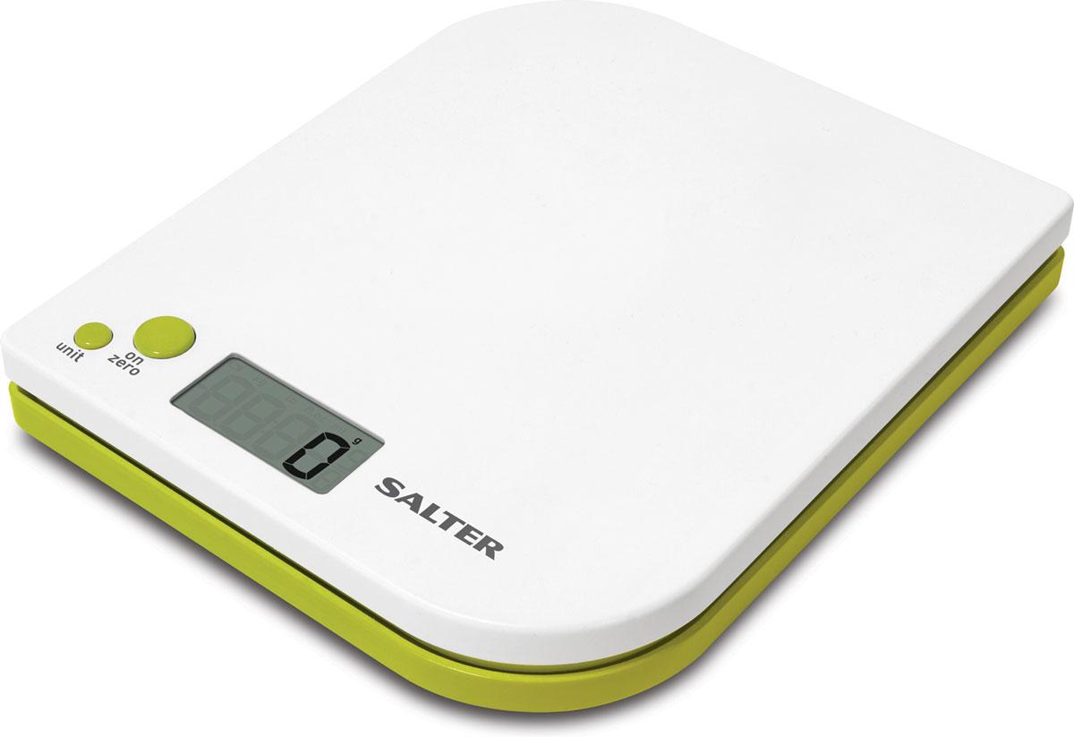 Salter 1177 WHGNDR, White электронные кухонные весы1177 WHGNDRSalter 1177 - электронные кухонные весы с современным дизайном. Данная модель имеет функцию добавь и взвешивай для взвешивания нескольких ингредиентов в одной чаше. Вы можете легко осуществлять переключение между метрической и имперской системой измерения. Прибор оснащен легко читаемым дисплеем. Ингредиенты можно взвешивать прямо на весах или в отдельной емкости. Размер дисплея 4,5 х 2 см