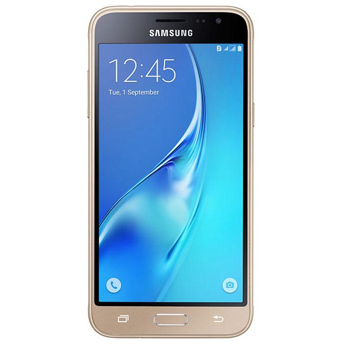 Samsung SM-J320F Galaxy J3, GoldSM-J320FZDDSERSamsung SM-J320F Galaxy J3 отличается более элегантным обновленным дизайном передней панели. Новый дизайн усиливает впечатление от просмотра. Тонкая черная рамка придает эффект глубокого погружения в изображение на экране. При толщине 7,9 мм и ширине 71,05 мм, смартфон Samsung SM-J320F Galaxy J3 выглядит более изящно, приятная на ощупь текстура корпуса подчеркивает элегантность формы и ощущение комфорта при использовании смартфона. Аккумулятор с емкостью 2600 мАч позволит оставаться на связи дольше обычного. При отсутствии возможности подзарядки используйте режим максимального энергосбережения. 4-ядерный процессор и 1,5 ГБ оперативная память обеспечивают мгновенную реакцию смартфона на любые ваши действия. Удобное приложение Smart Manage Простой способ управления основными функциями смартфона: уровень заряда аккумулятора, доступный объем памяти, состояние использования оперативной памяти и безопасность смартфона. ...