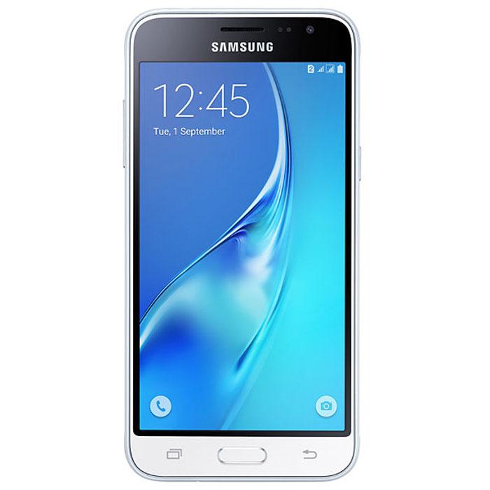 Samsung SM-J320F Galaxy J3, WhiteSM-J320FZWDSERSamsung SM-J320F Galaxy J3 отличается более элегантным обновленным дизайном передней панели. Новый дизайн усиливает впечатление от просмотра. Тонкая черная рамка придает эффект глубокого погружения в изображение на экране. При толщине 7,9 мм и ширине 71,05 мм, смартфон Samsung SM-J320F Galaxy J3 выглядит более изящно, приятная на ощупь текстура корпуса подчеркивает элегантность формы и ощущение комфорта при использовании смартфона. Аккумулятор с емкостью 2600 мАч позволит оставаться на связи дольше обычного. При отсутствии возможности подзарядки используйте режим максимального энергосбережения. 4-ядерный процессор и 1,5 ГБ оперативная память обеспечивают мгновенную реакцию смартфона на любые ваши действия. Удобное приложение Smart Manage Простой способ управления основными функциями смартфона: уровень заряда аккумулятора, доступный объем памяти, состояние использования оперативной памяти и безопасность смартфона. ...