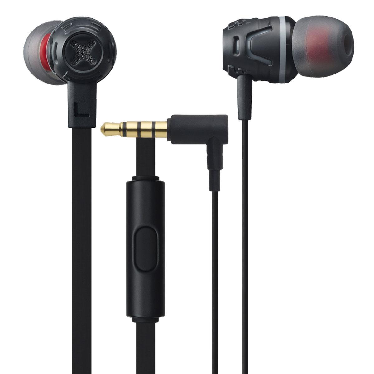 Cresyn C450S, Black наушники с микрофономC450S BlackВставные наушники с микрофоном Cresyn C450S совершенны в своем исполнении. Яркий дизайн и множество цветовых вариантов рассчитаны на взыскательный вкус стремительных и энергичных. Крупные 10- миллиметровые динамики с неодимовыми магнитами выдают детализированный звук, насыщенный глубокими басами. Открытое акустическое оформление способствует предельно естественному звучанию, а посадка в ушном канале с подобранными по размеру насадками изолирует шумы извне. Плоский кабель не спутывается и отличается повышенной прочностью. Двухцветные насадки разных размеров не только позволяют получить максимальный комфорт при ношении, но и радуют сочетанием цветов. Пульт, встроенный в кабель стерео-гарнитуры Cresyn C450S, располагает кнопкой для ответа на входящие вызовы. Высокочувствительный ненаправленный микрофон с максимальной четкостью захватывает ваш голос при общении, отсекая лишние шумы. Все перечисленные функции позволяют слушать музыку и отвечать на звонки, не ...