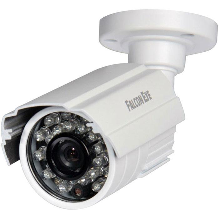 Falcon Eye FE-IB720AHD/25M уличная камера видеонаблюденияFE-IB720AHD/25MУличная цветная видеокамера Falcon Eye FE-IB720AHD/25M для видеонаблюдения. Данная модель имеет качественную матрицу и обладает усовершенствованной ИК-подсветкой для ночной съемки. Компактный размер и небольшой вес дают возможность смонтировать устройство в любых местах, подходящих для видеонаблюдения.