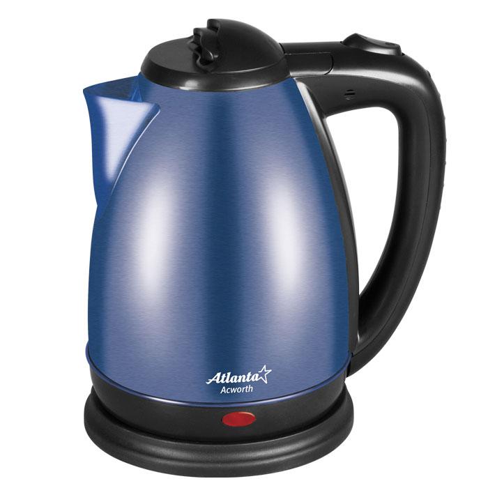 Atlanta ATH-2424, Blue электрический чайник