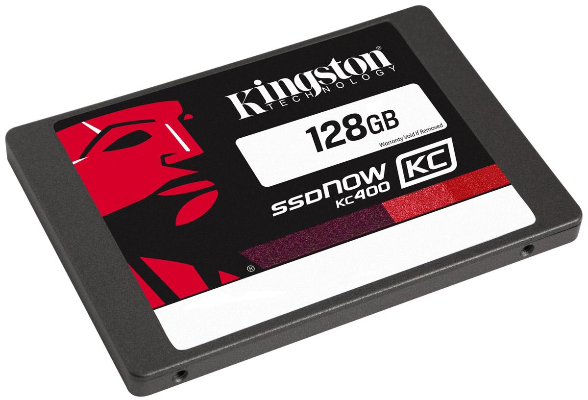 Kingston KC400 128GB SSD-накопитель (SKC400S37/128G)SKC400S37/128GТвердотельные накопители KC400 компании Kingston работают в 15 раз быстрее по сравнению с жесткими дисками; они обеспечивают стабильную скорость для сжимаемых и несжимаемых данных и повышают отзывчивость систем при запуске ресурсоемких приложений. В них используется 8-канальный контроллер Phison PS3110-S10 и четырехъядерный процессор для ускорения обработки повседневных задач и повышения продуктивности. Накопители обеспечивают сквозную защиту данных и поддерживают технологию SmartECC для сохранности данных, а также SmartRefresh для защиты от ошибок чтения. В случае возникновения ошибок данные воссоздаются; накопители восстанавливаются после аварийного отключения питания, благодаря защите от отключения питания на основе встроенного ПО. Современные контроллеры и память NAND обеспечивают высокую надежность хранения данных.