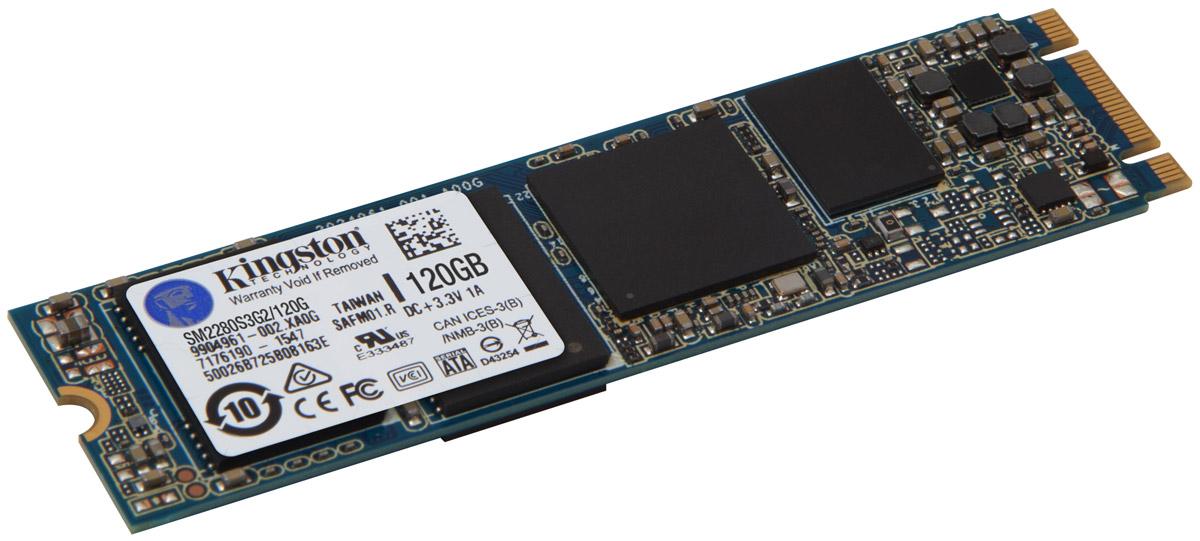 Kingston M.2 SATA G2 120Gb SSD-накопительSM2280S3G2/120GM.2 SATA G2 SSD компании Kingston - это тонкий и компактный бескорпусной внутренний твердотельный накопитель, сочетающий в себе большую емкость с низким энергопотреблением, что позволяет использовать его в качестве надежного кэширующего устройства или первичного накопителя для ОС и приложений. Он совместим с системными платами настольных компьютеров с набором микросхем Intel 9x и популярными ПК с компактным форм-фактором (Small Form Factor, SFF), в том числе с ноутбуками, ультрабуками и планшетами; SSD M.2 2280 SATA G2 легко устанавливается в системы с разъемами M.2 и идеально подходит для сборщиков компьютерных систем, а также пользователей, самостоятельно собирающих свои компьютеры. M.2 SATA G2 имеет меньший вес по сравнению с корпусными SSD и оптимизирует производительность системы за счет улучшенной очистки памяти, выравнивания износа и поддержки технологии TRIM для сохранения постоянной производительности на протяжении всего срока службы накопителя....