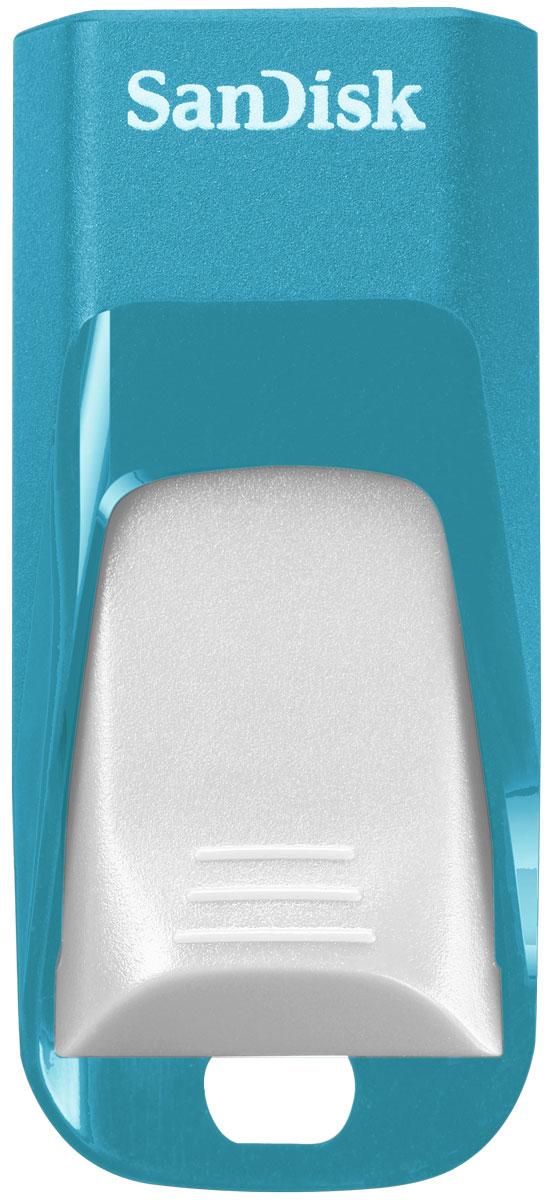 SanDisk Cruzer Edge EURO 2016 Football 8Gb, Blue USB-накопитель (SDCZ51-008G-E35BG)