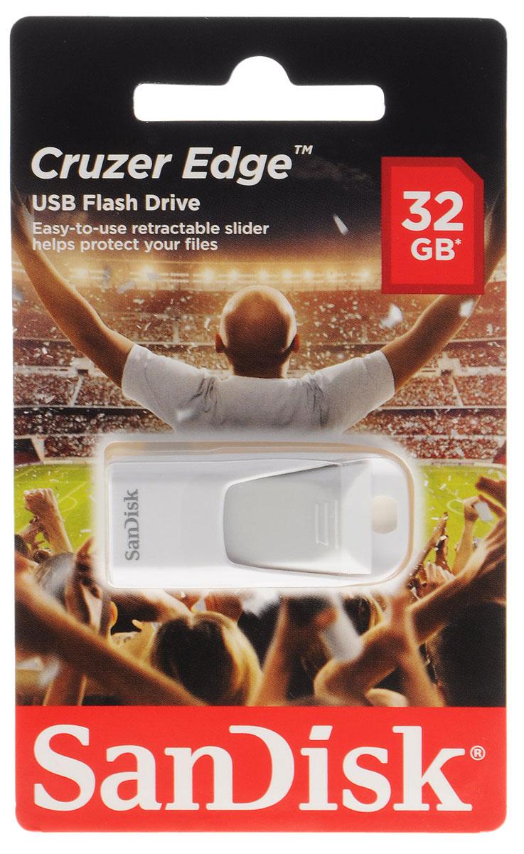 SanDisk Cruzer Edge EURO 2016 Football 32Gb, White USB-накопитель (SDCZ51-032G-E35WG)