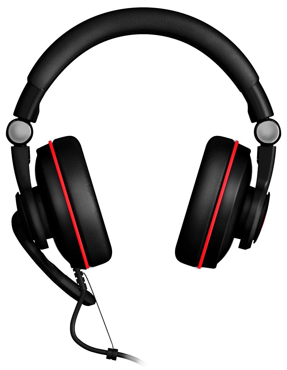 EpicGear SonorouZ SE V2.0 игровая гарнитураEGASSE-7UWB-AMSGEpicGear SonorouZ SE позволяет наслаждаться игровым окружением наиболее аутентичным способом. Поддержка виртуального объемного звучания формата 7.1 вкупе с оптимизированным дизайном чашек обеспечивают максимально детализированную передачу звуковых эффектов. Кроме того, гарнитура имеет микрофон с цифровой системой шумоподавления, обеспечивающей комфортное общение во время игры. EpicGear SonorouZ SE имеет расположенный на проводе многофункциональный контроллер, позволяющий регулировать громкость, не отрываясь от игры. Функции контроллера и других компонентов гарнитуры могут быть настроены посредством фирменного программного обеспечения. Складной дизайн наушников и выдвижной микрофон делают EpicGear SonorouZ SE портативным решением. Усиленный кабель с защитой от натяжения позволяет SonorouZ SE сохранять стойкость даже в экстремальных условиях. Что немаловажно, SonorouZ SE легко настраивается под голову любого размера. Частотный диапазон...