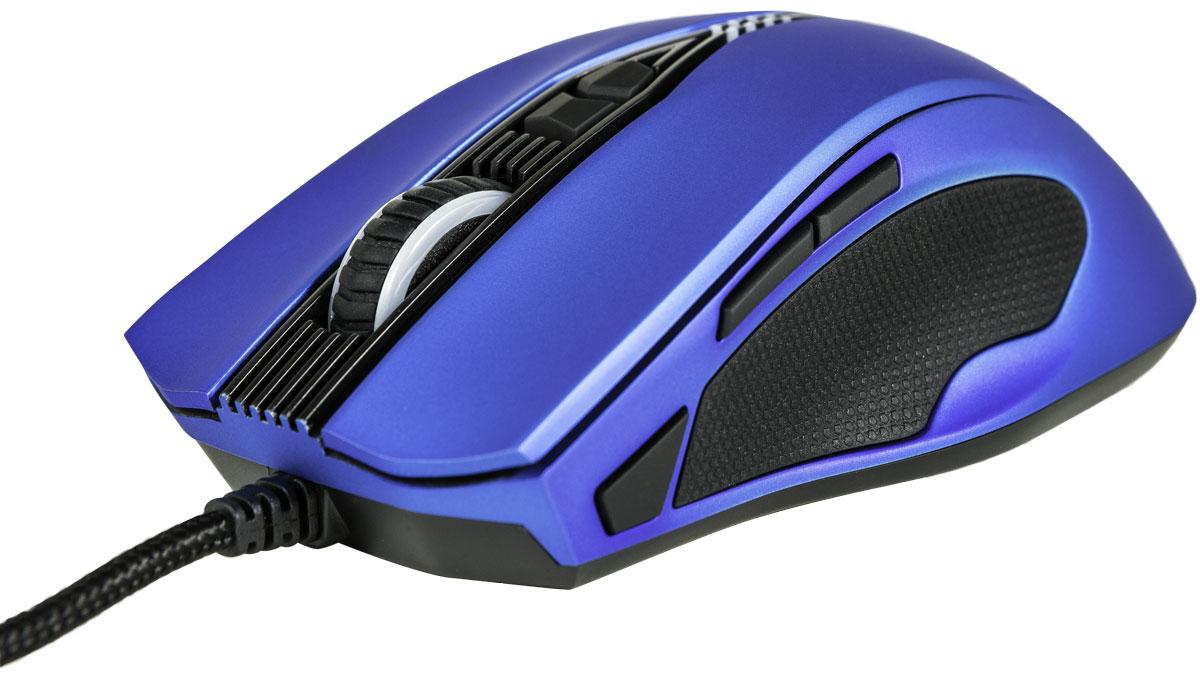 EpicGear Gekkota, Blue игровая мышьEGMGK1-BLLW-AMSGРазработанная в сотрудничестве с профессиональными геймерами, симметричная игровая мышь EpicGear GeKKota призвана обеспечивать тотальный контроль над курсором. Ее эргономика адаптирована под быстрые перемещения, свойственные когтевому хвату и хвату кончиками пальцев. Укороченный и облегченный дизайн GeKKota делает мышь смертоносным оружием, которое походит и правшам, и левшам. GeKKota оснащена лазерным сенсором на 8200 dpi, обеспечивающим экстремальную чувствительность и стабильность. Игрок имеет возможность настраивать высоту отрыва и степень сглаживания углов, переназначать функции клавиш, а также создавать профили и макросы, используя фирменное программное обеспечение. Кнопки на обеих сторонах не создают помех указательному пальцу и мизинцу Нескользящие вставки и углубления, обеспечивающие надежный хват 11 программируемых клавиш 15 настраиваемых наборов макросов Долговечные кнопки со сроком службы в 10 миллионов нажатий ...