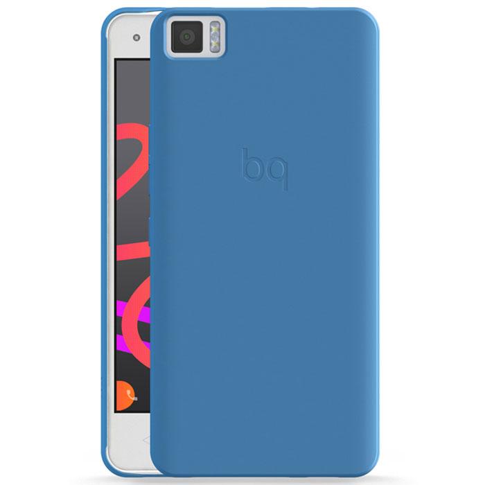BQ Candy чехол для Aquaris M4.5, BlueE000592Чехол-накладка BQ Candy для Aquaris M4.5 бережно и надежно защитит ваш смартфон от пыли, грязи, царапин и других повреждений. Чехол оставляет свободным доступ ко всем разъемам и кнопкам устройства.