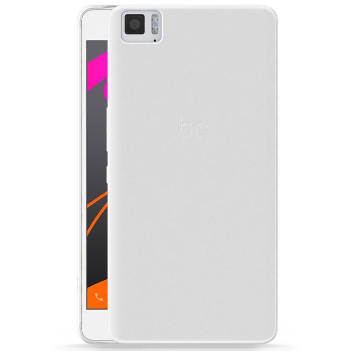 BQ Candy чехол для Aquaris M5.5, IceE000599Чехол-накладка BQ Candy для Aquaris M5.5 бережно и надежно защитит ваш смартфон от пыли, грязи, царапин и других повреждений. Чехол оставляет свободным доступ ко всем разъемам и кнопкам устройства.