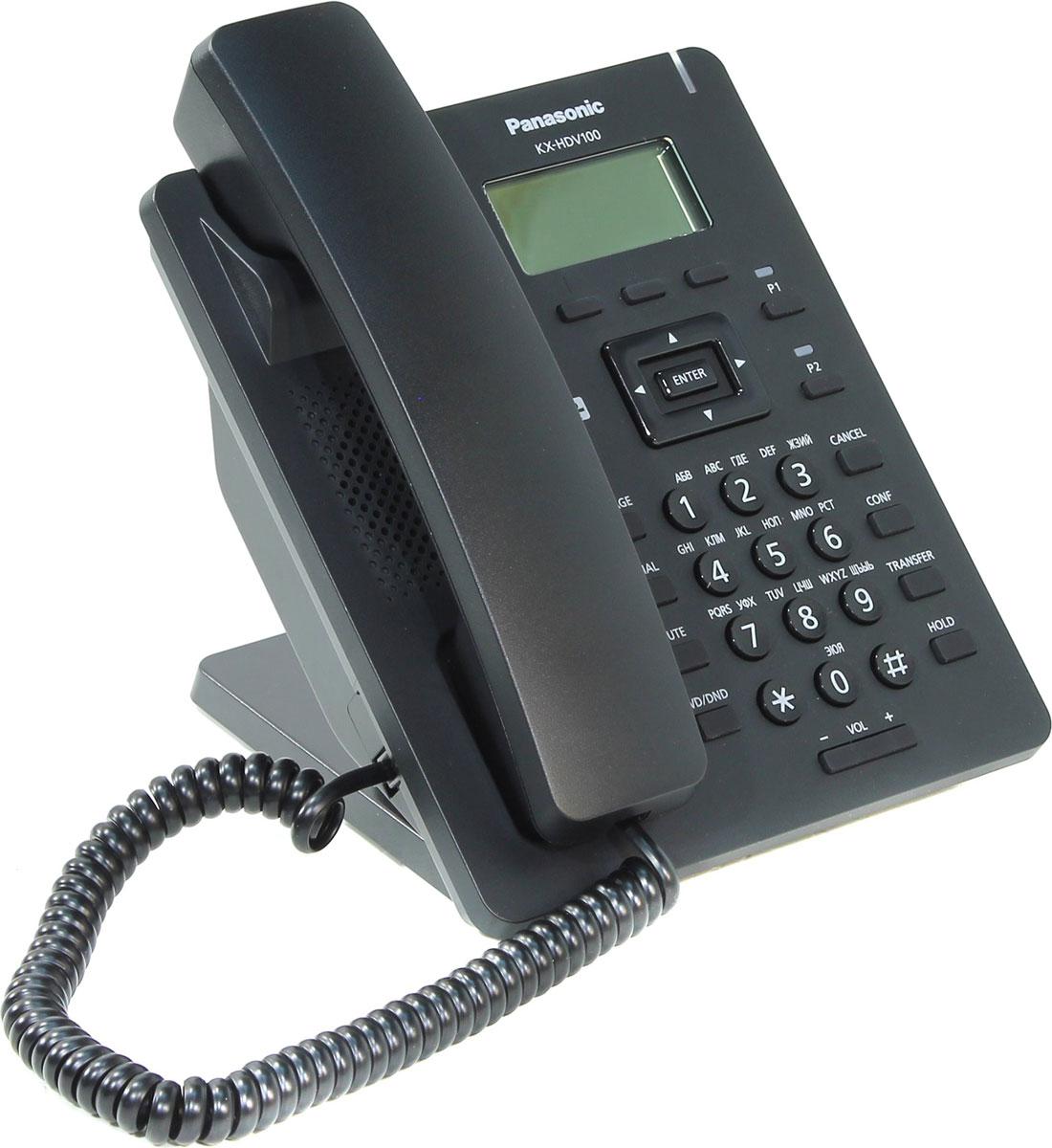 Zakazat.ru: Panasonic KX-HDV100RUB SIP-телефон