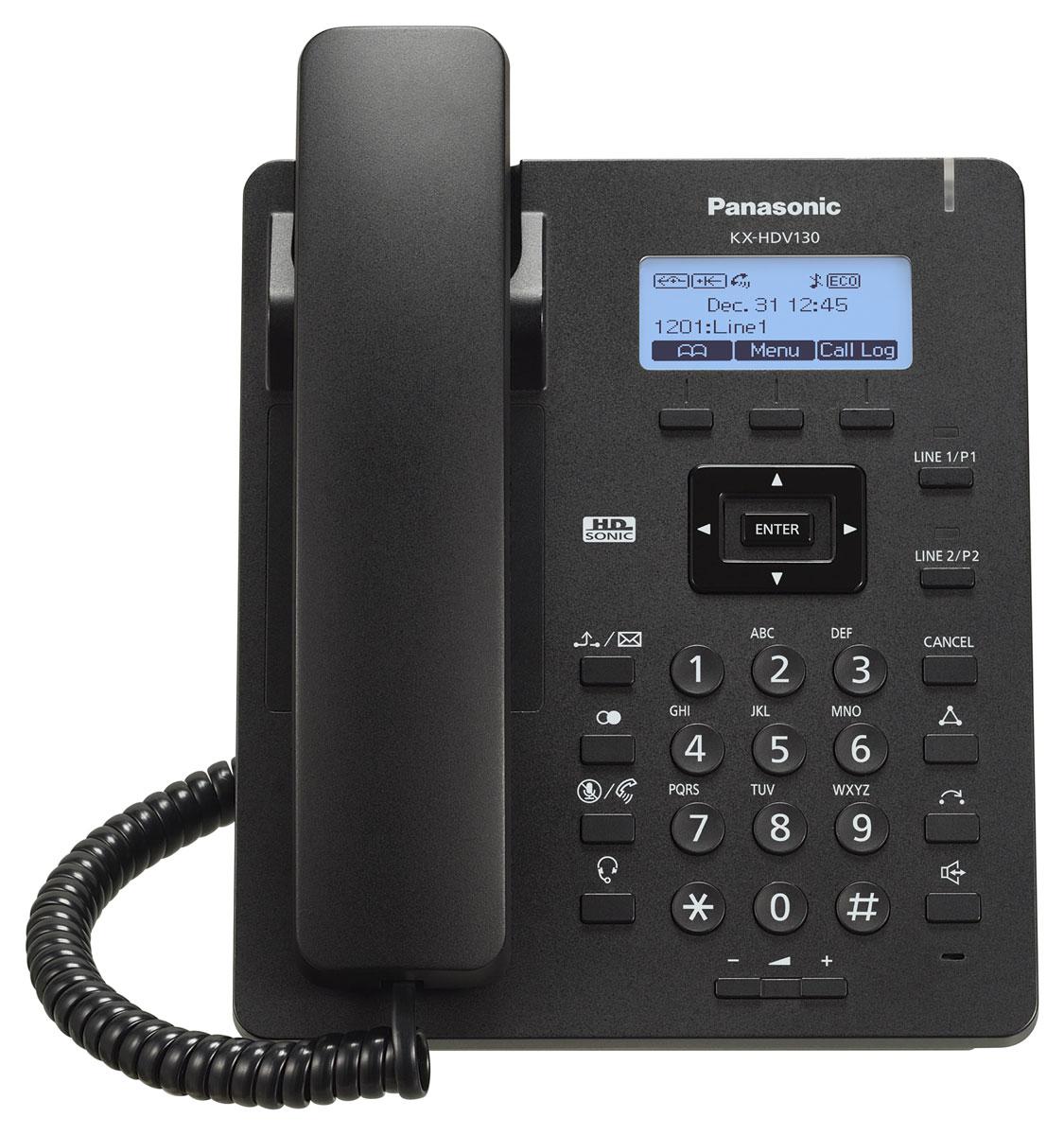 Panasonic KX-HDV130RUB SIP-телефон
