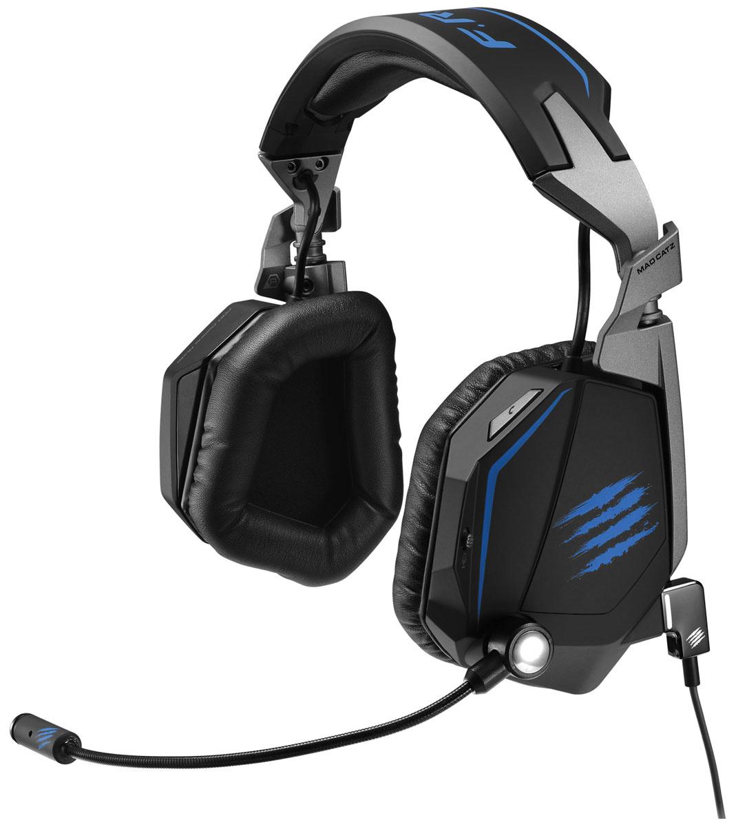 Mad Catz F.R.E.Q.ТЕ 7.1, Black наушники с микрофоном + бонус код Path of Exile (MCB434120B02/02/1)PCAmc50Амбушюры наушников из пенного материала с эффектом памяти пассивно подавляют шумы и обеспечивают комфорт Однонаправленный микрофон улавливает только ваш голос