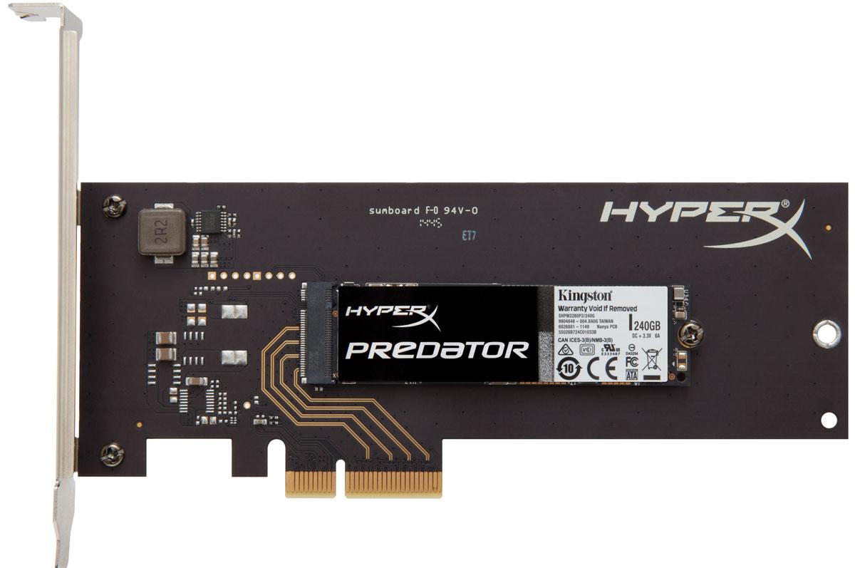 Kingston HyperX Predator 240 GB SSD-накопитель