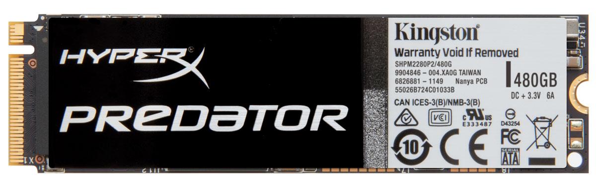 Kingston HyperX Predator 480 GB SSD-накопитель