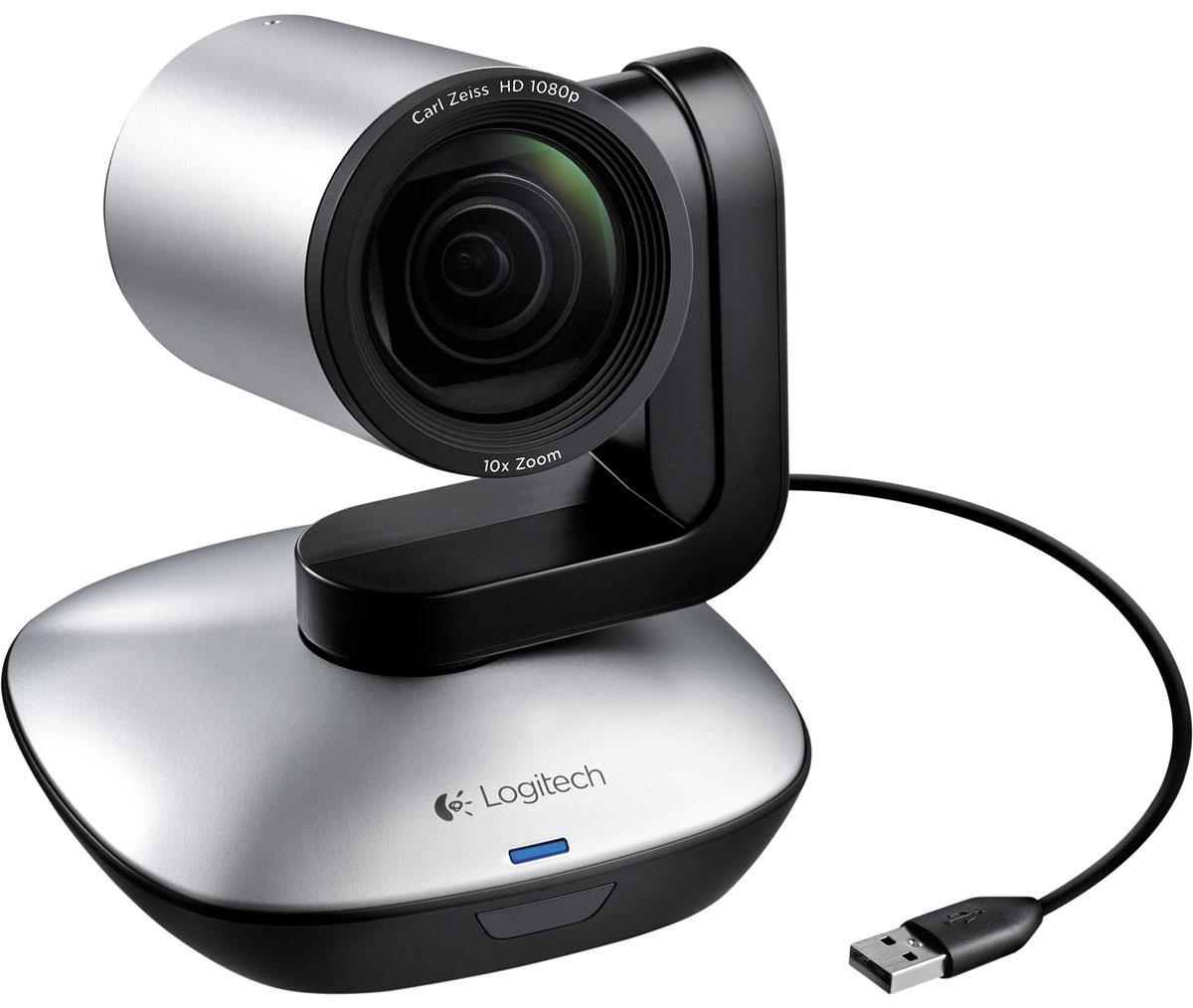 Logitech PTZ Pro веб-камера960-001022Logitech PTZ Pro - веб-камера с поддержкой изображения в формате HD 1080p и возможностью USB-подключения обеспечит высокое качество видео во время проведения конференций или совещаний. Данная модель подойдет для мероприятий любого масштаба. Устройство можно использовать практически в любых условиях — конференц-залах и классных комнатах или комнатах для совещаний и обучения. Камера PTZ Pro идеально впишется в любой офис и удовлетворит потребности в оборудовании для видеосвязи профессионального уровня. Настраивайте устройство в мгновение ока. Выполните простое подключение к ПК, компьютеру Mac или устройству с поддержкой USB — для этого не требуются специальные навыки, программное обеспечение или техническое обслуживание. Камера снабжена оптической системой с сертификацией ZEISS и поддерживает формат видео Full HD 1080p с частотой 30 кадров в секунду. Устройство обеспечивает высокую резкость и четкость изображения, превосходную передачу...