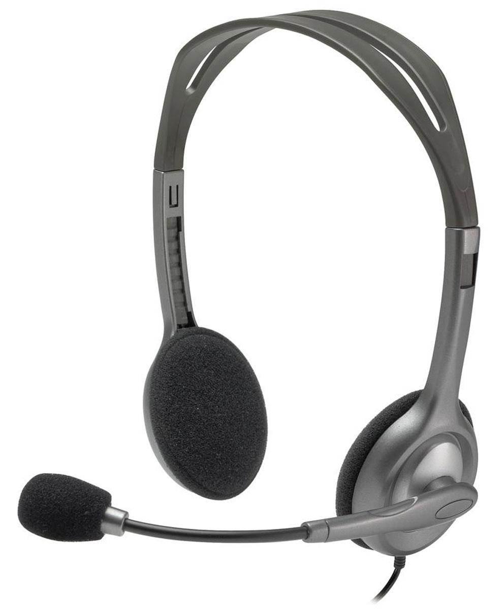 Logitech H111 Stereo гарнитура981-000593Logitech H111 Stereo универсальная гарнитура, которая совместима практически со всеми операционными системами и платформами благодаря подключению с помощью стандартного разъема 3,5 мм. Забудьте о фоновом шуме благодаря микрофону с функцией шумоподавления. Легкое оголовье можно отрегулировать для удобного расположения гарнитуры, а микрофон можно расположить слева или справа. Помимо чистого звучания речи эта гарнитура обеспечивает насыщенный стереозвук при просмотре фильмов, прослушивании музыки и в играх.
