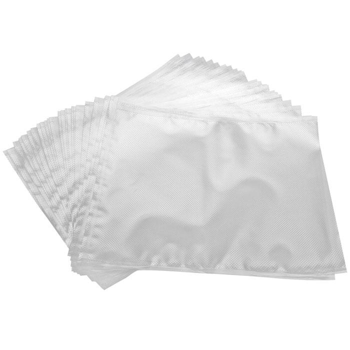 STATUS VB 28х36 пакеты для вакуумного упаковщика, 25 штVB 28*36-25Специальные прочные пакеты STATUS VB 28х36 для вакуумного упаковщика с ребристой структурой. Высокая прочность допускает замораживание, использование в СВЧ печи, готовку по технологии Sous-Vide. Длина пакета: 36 см