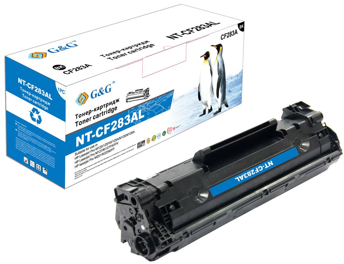 G&G NT-CF283AL тонер-картридж для HP LaserJet Pro M125/M127/M201/M225NT-CF283ALТонер-картридж G&G NT-CF283AL для лазерных принтеров HP LaserJet Pro M125/M127/M201/M225. Расходные материалы G&G для лазерной печати максимизируют характеристики принтера. Обеспечивают повышенную чёткость чёрного текста и плавность переходов оттенков серого цвета и полутонов, позволяют отображать мельчайшие детали изображения. Обеспечивают надежное качество печати.