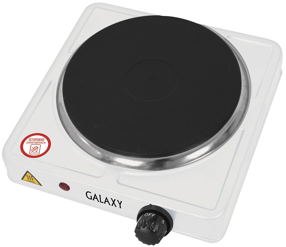 Galaxy GL 3001 плитка электрическая4630003364104Компактная электрическая плитка Galaxy GL 3001 просто незаменима, когда нет возможности установить полноценную стационарную плиту, например, в общежитии, на даче или любом другом помещении. Данная модель лёгкая и компактная, для нее всегда найдётся место. Она быстро нагревается и стабильно поддерживает заданную температуру, экономно расходует электроэнергию. Нагревательный элемент в плитке закрыт конфоркой-диском, в результате чего он не имеет прямого контакта с посудой или случайно попавшей пищей. Это значительно продлевает срок службы плитки. Помимо этого, диск легче очищается от загрязнений, в отличие от спирали, имеющей сложную форму. Диаметр нагревательного элемента: 185 мм Длина шнура питания: 0,8 м Металлический корпус, покрытый молотковой эмалью Плавная регулировка температуры нагрева.