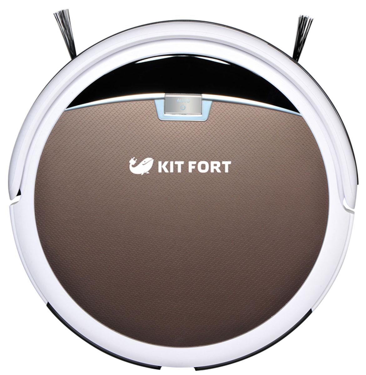 Kitfort KT-519-4, Brown робот-пылесос ( KT-519-4 коричневый )