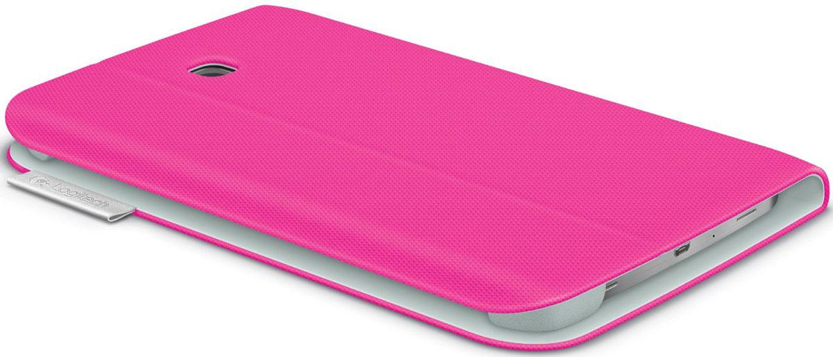 Logitech Folio чехол для Samsung Galaxy Tab 3 7.0, Fantasy Pink
